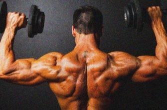 тренировка плеч, как накачать плечи