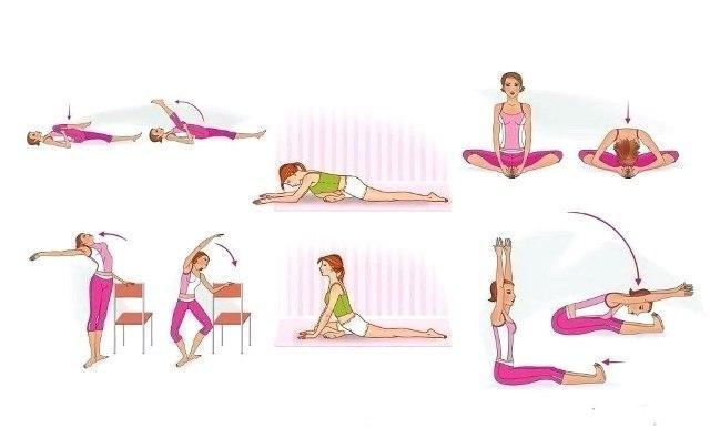 Упражнения на растяжку для девушек