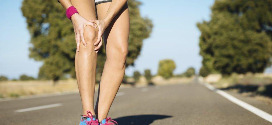 Боль при беге