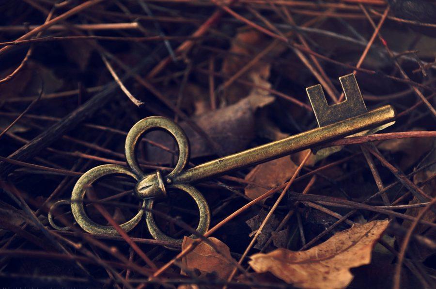 Ключи на земле