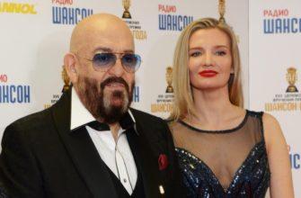 Михаил Шуфутинский с женой
