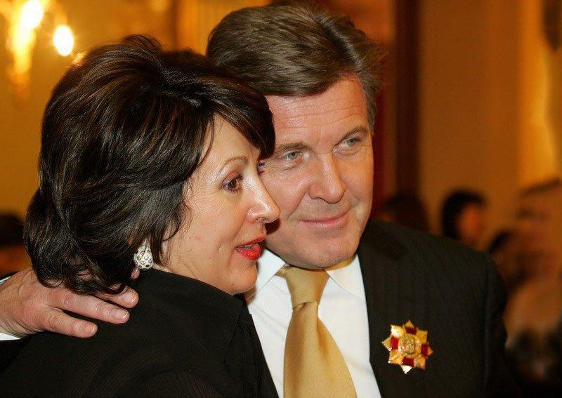 Ирина Лещенко с мужем