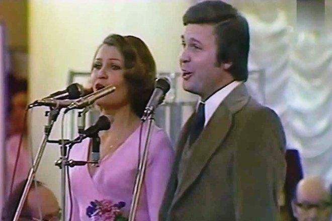 Абдалова и Лещенко на сцене