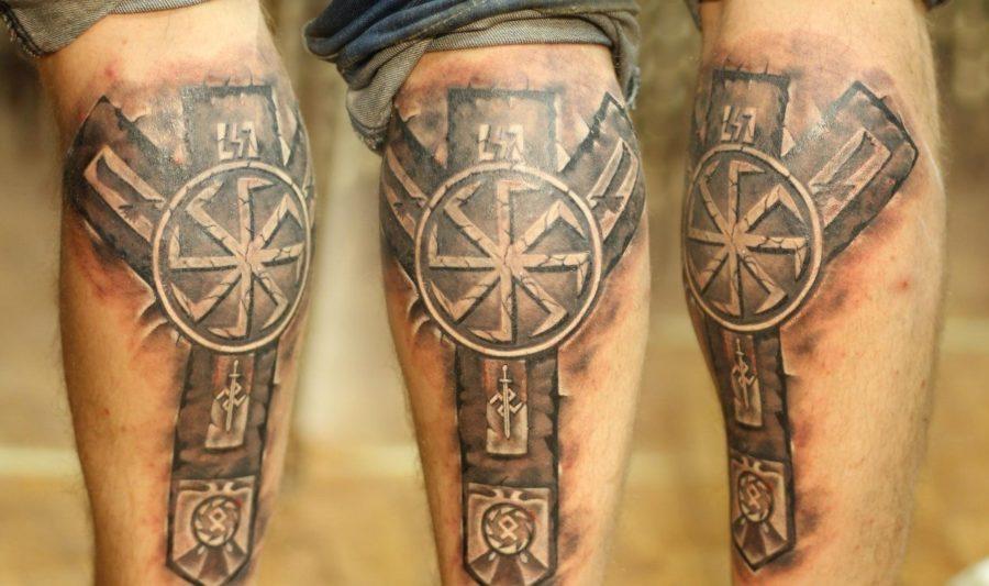 Татуировки рун на теле