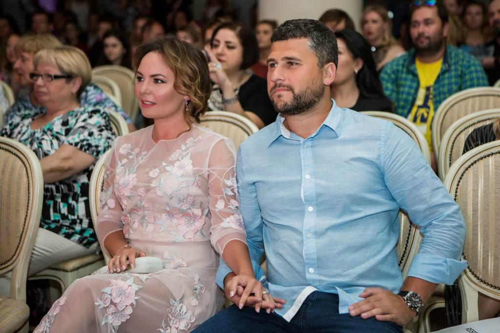 Татьяна Морозова с мужем