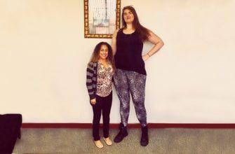 Эли Штоц высокая девушка