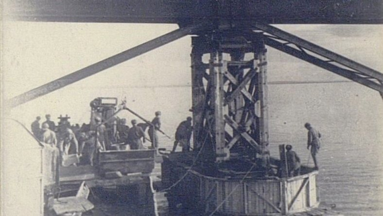 Строительство крымского моста при СССР