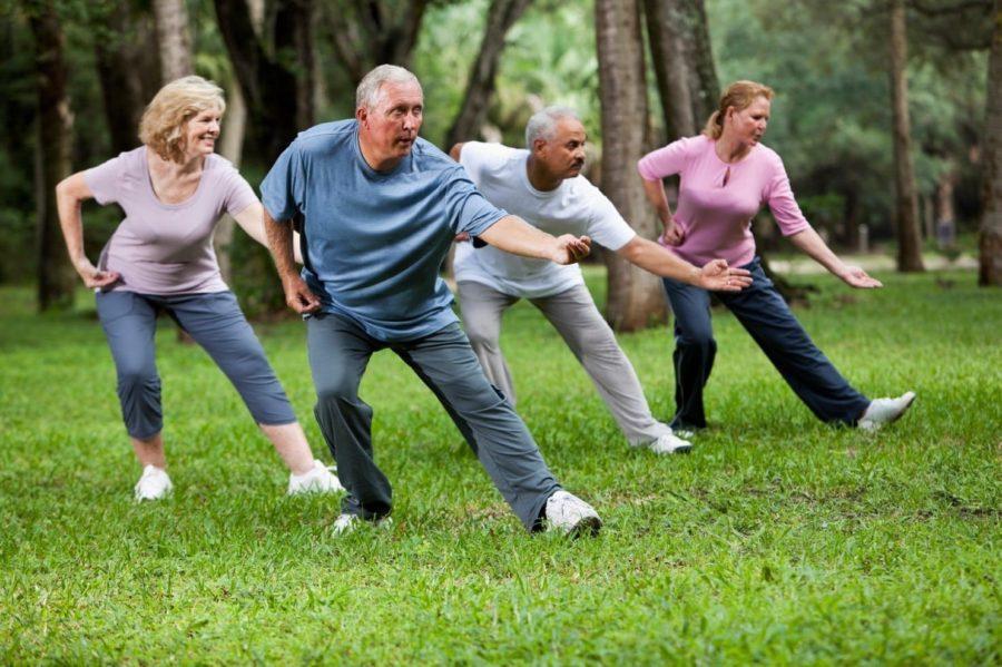Упражнения старшего поколения
