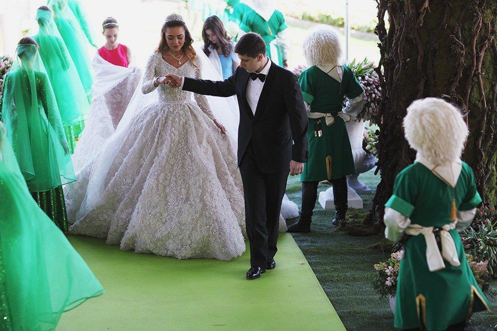 Свадьба Саида Гуцериева и Хадижи Ужаховой