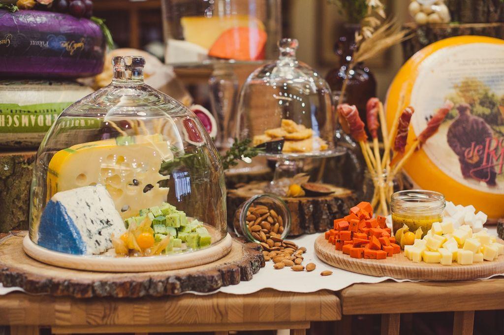 Сырный стол на новый год