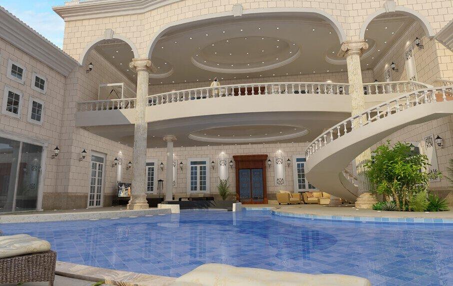 Дворец Каддафи