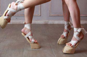 Японские сандалии-копыта