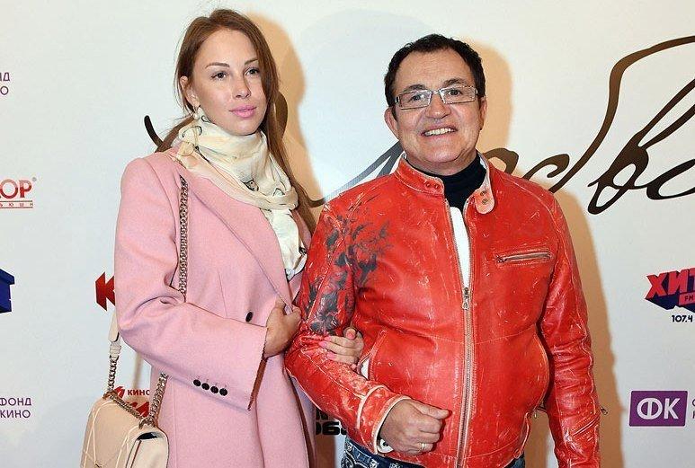 Дмитрий Дибров с женой Ольгой
