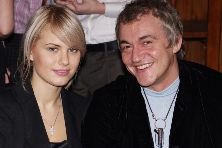 Дмитрий Дибров с женой Александрой