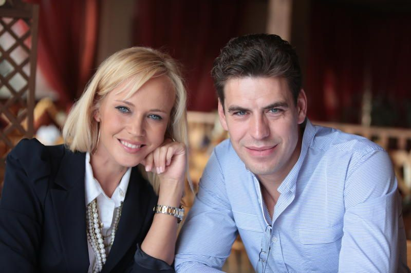 Дмитрий Дюжев и Татьяна Зайцева