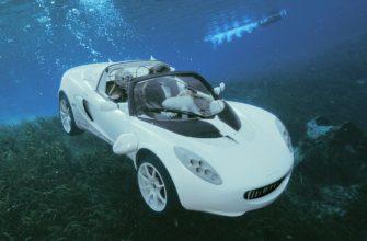 Автомобиль под водой