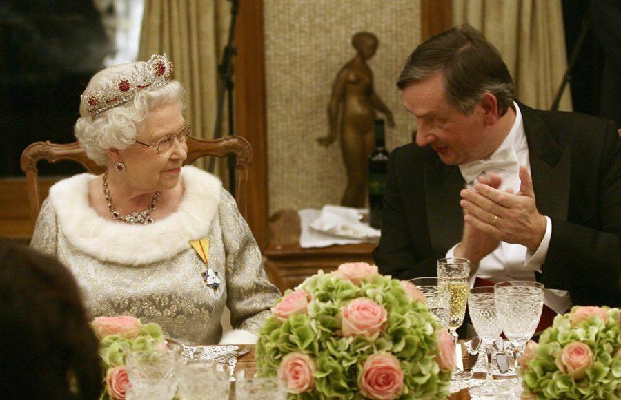 Обед королевы