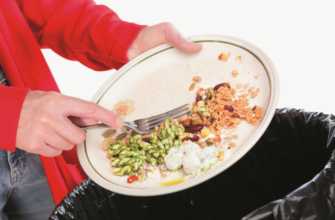 Выброс еды