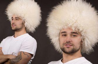 Кавказец в шапке