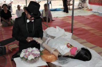 Похоронные обычаи в Китае