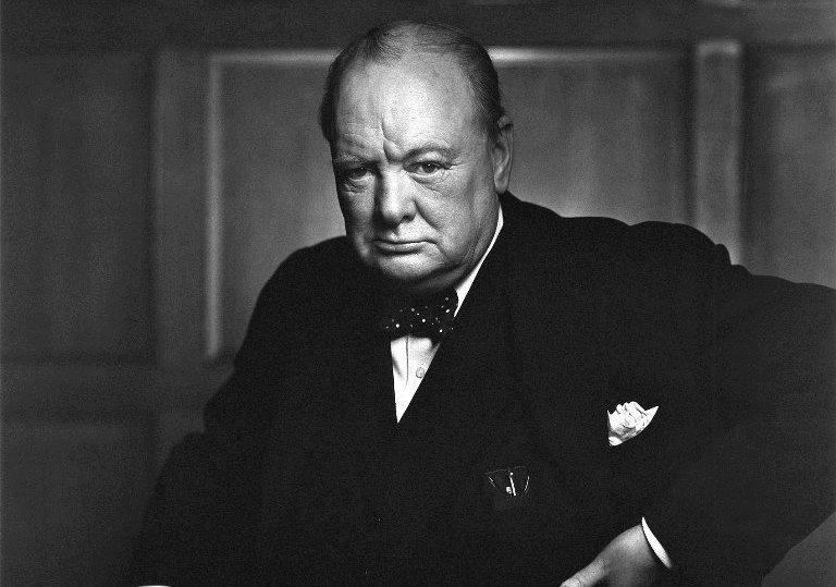 Сердитый Черчилль
