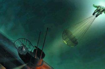 Парашют для подводника