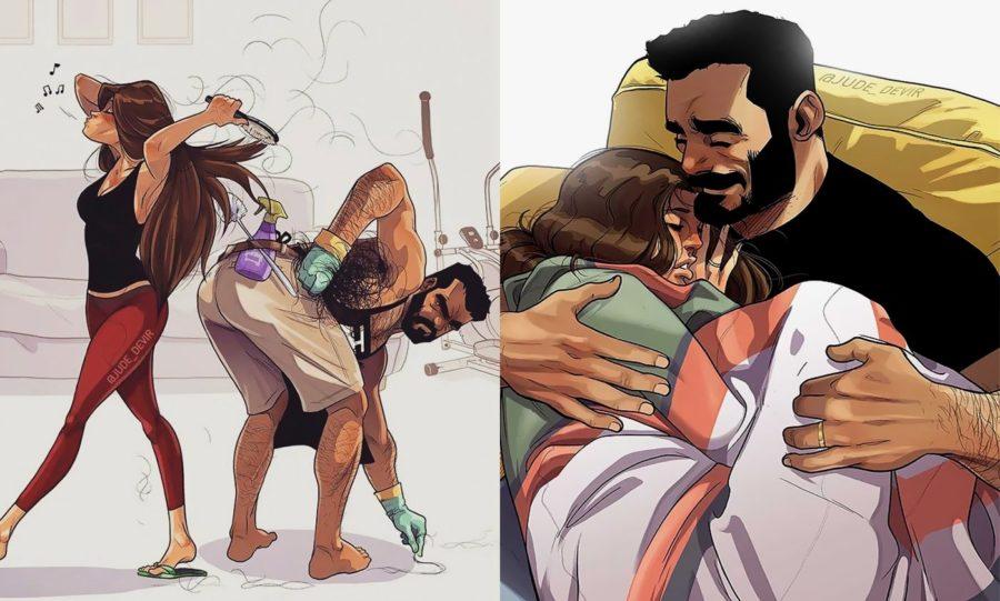 Комиксы про семейную жизнь