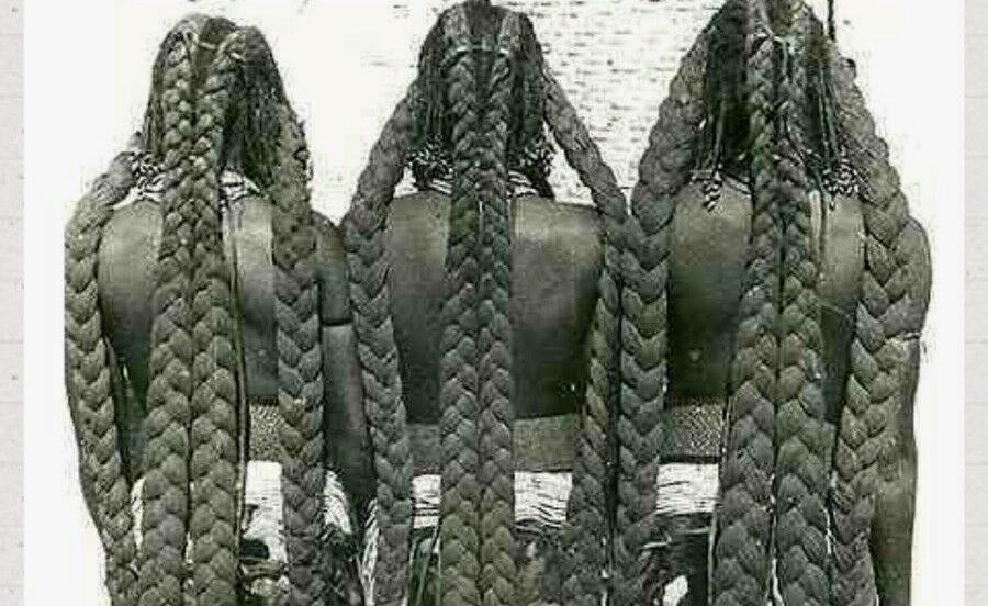 Волосы в племени мбаланту