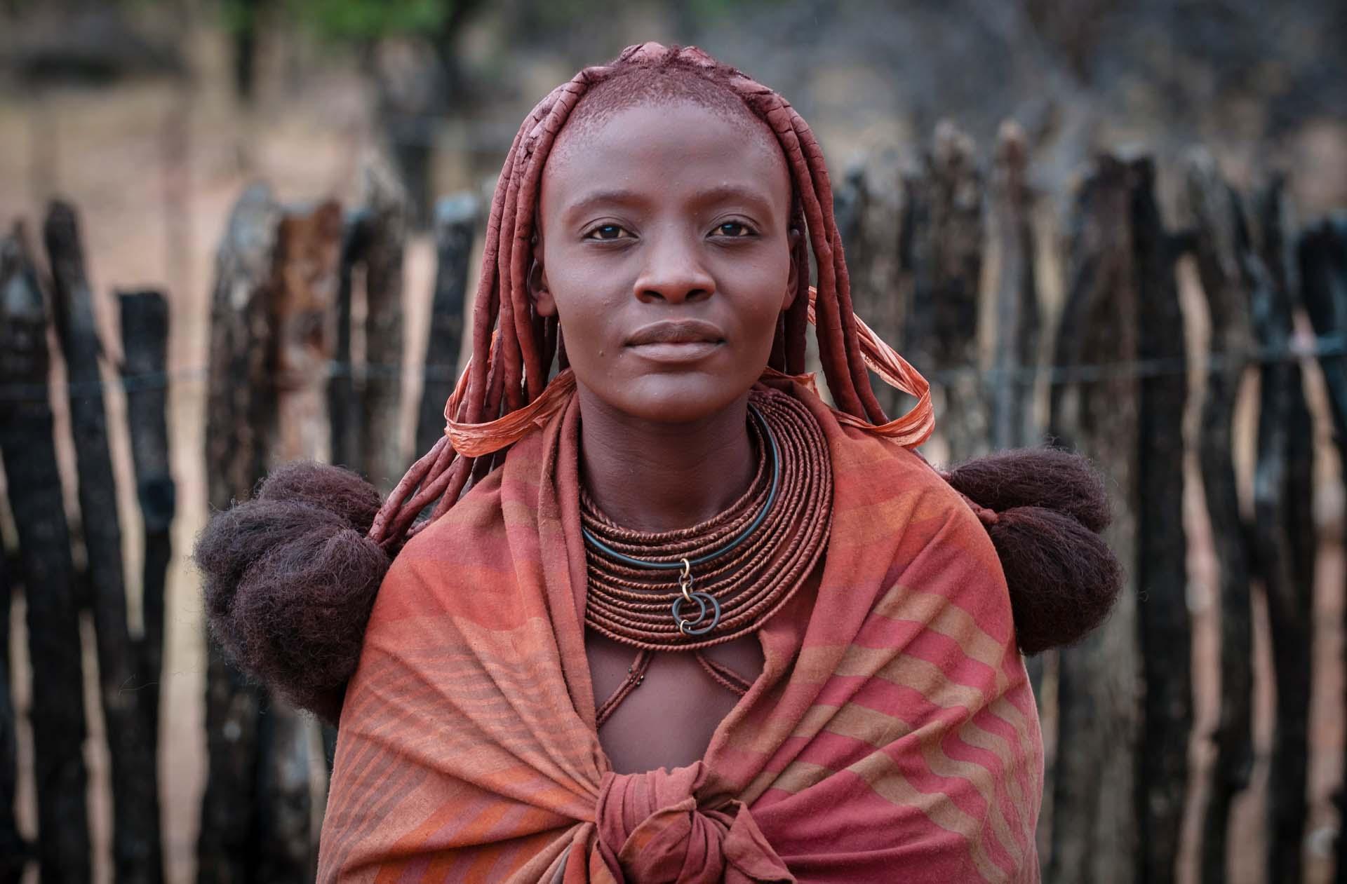 Девушка племени мбаланту