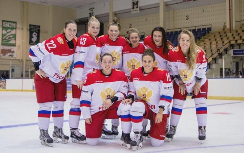 Российские девушки-хоккеистки
