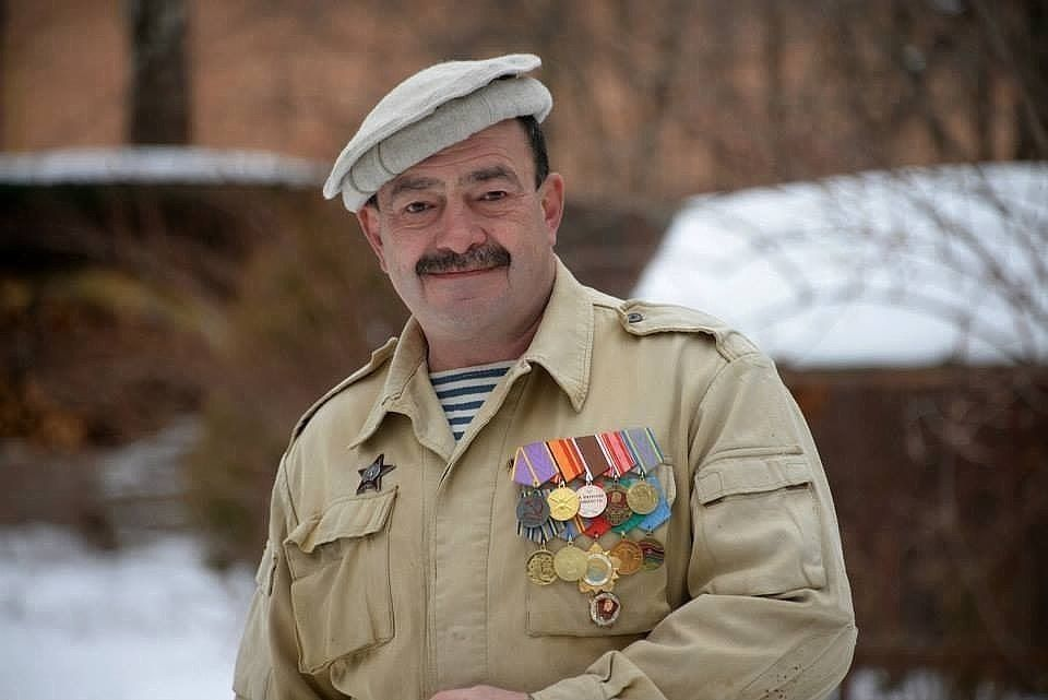 Михаил Кожухов в Афганистане