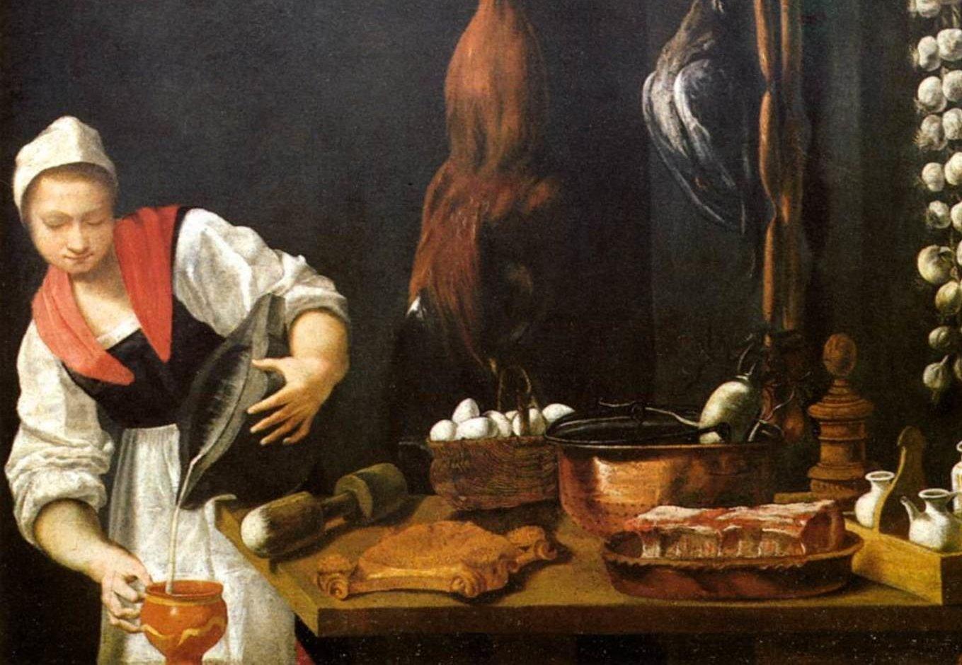 Крепостная крестьянка кухарка