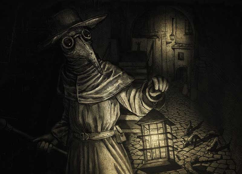 Костюм «Черной смерти»