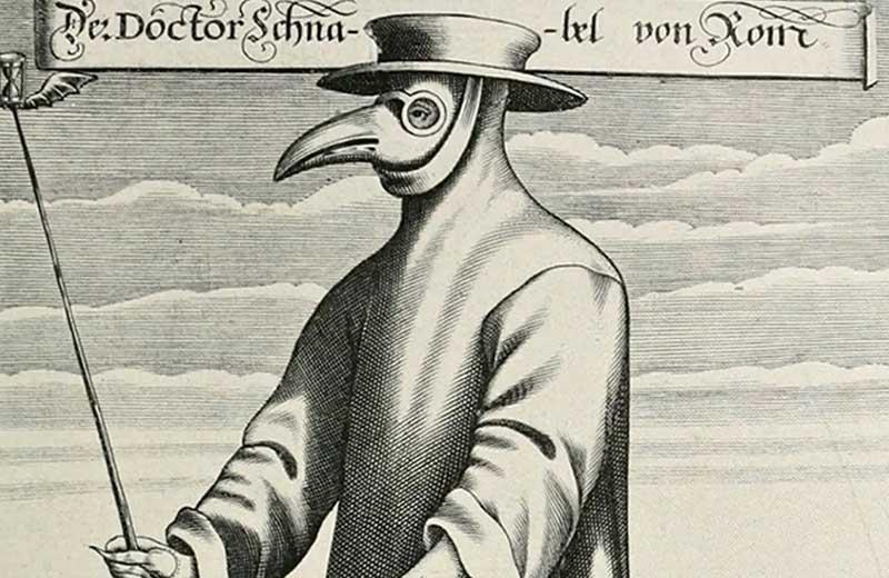 Зачем доктора носили маску в виде клюва