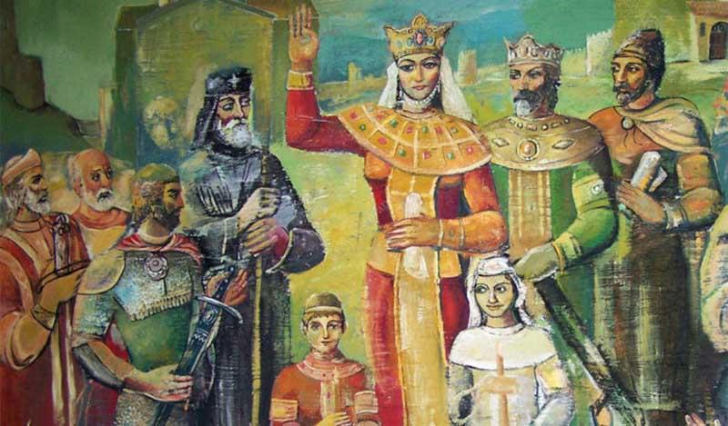 Почему царица Тамара выгнала своего мужа из страны