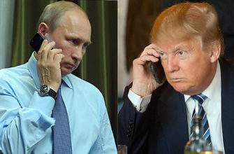 Общение по телефону глав государств