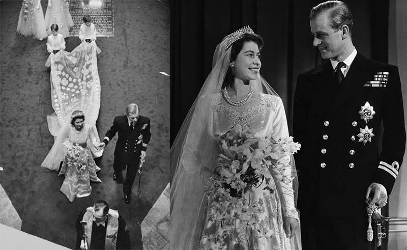 Свадьба королевы Елизаветы IIи герцога Эдинбургского