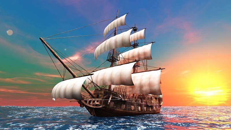 Корабль идет или плывет?