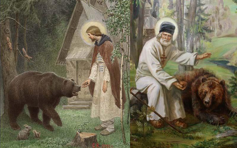 Медведь — символ божества в Древней Руси