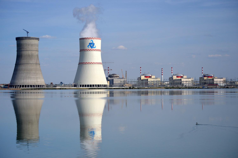 Атомная станция в России