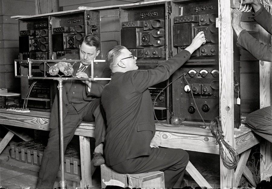 Работники на радио