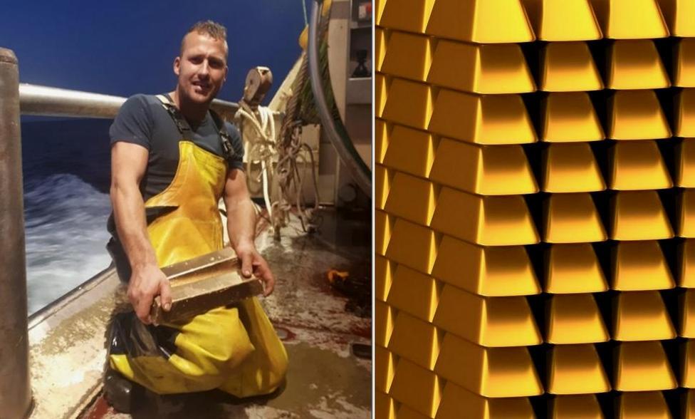 Рыбак выловивший золотые слитки