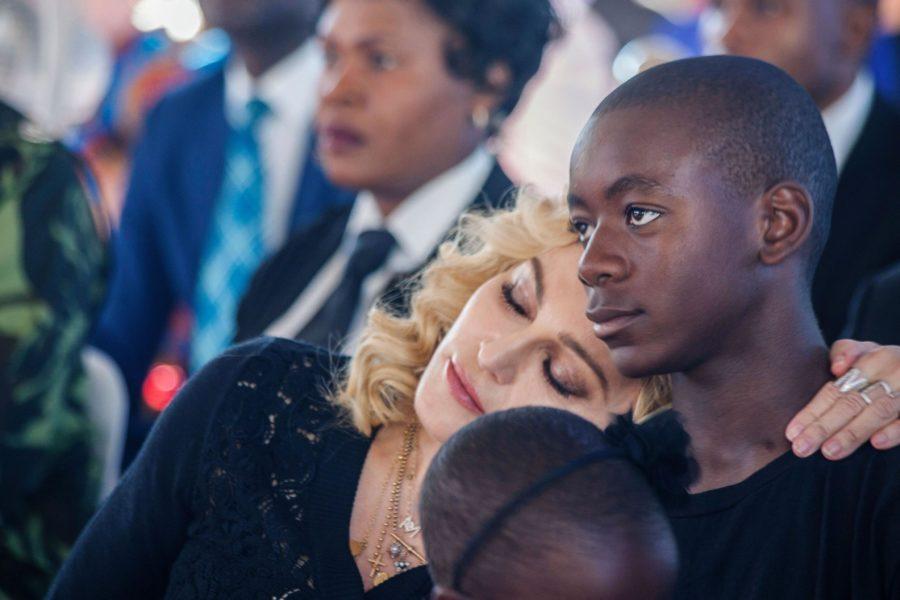 Дэвид с Мадонной