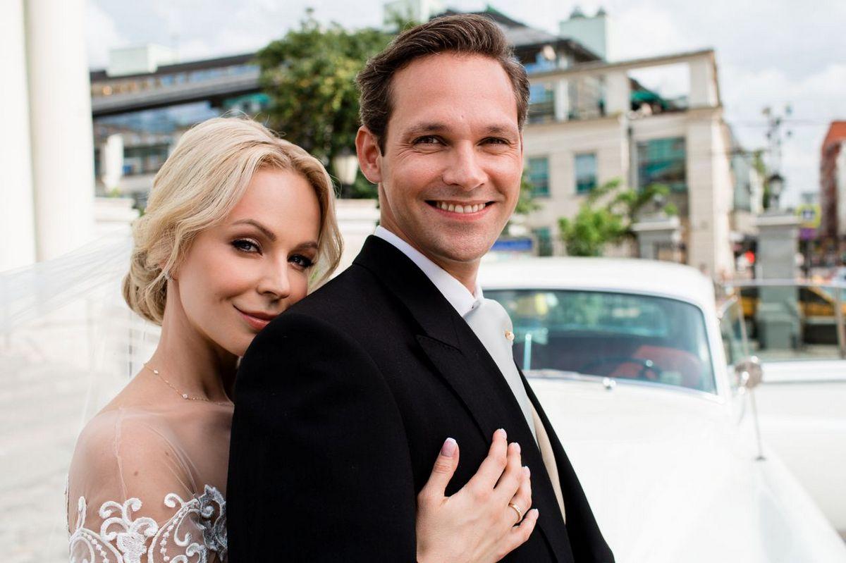 Ирина Медведева с мужем