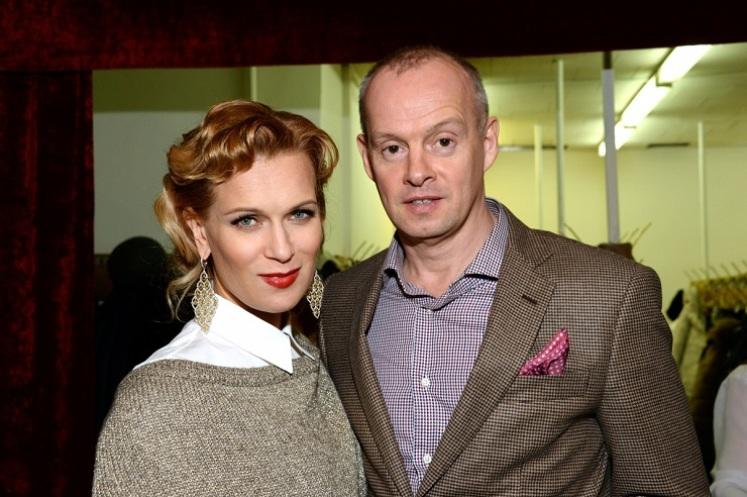 Олеся Судзиловская с мужем