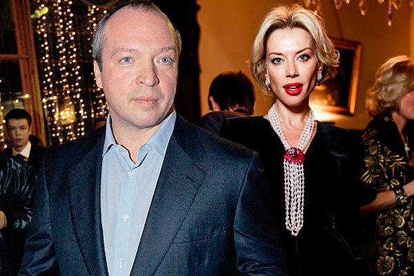 Елена Лихач с мужем