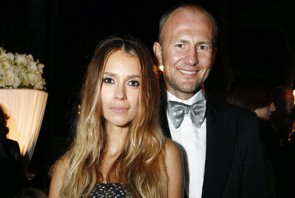 Александра Мельниченко с мужем