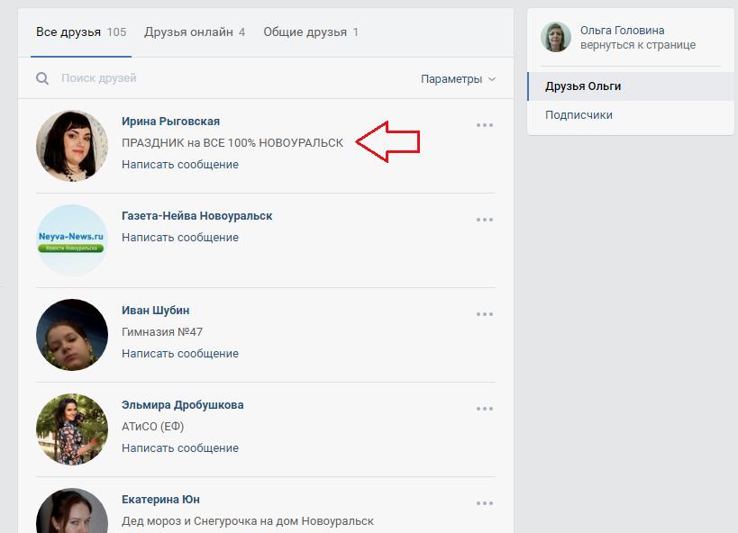 Сеть Вконтакте