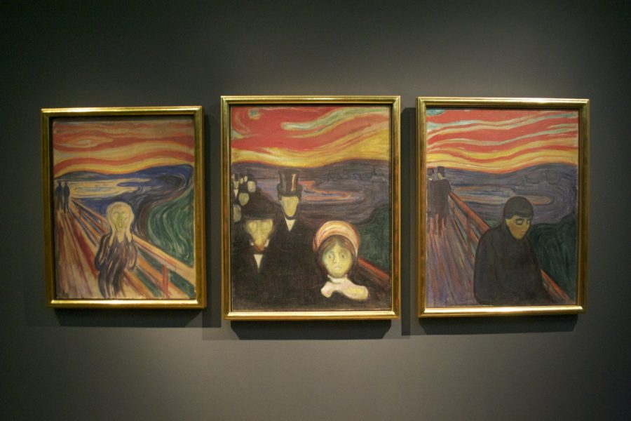 Картина Крик в музее Осло