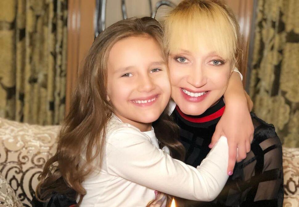 Кристина Орбакайте и дочь Клавдия